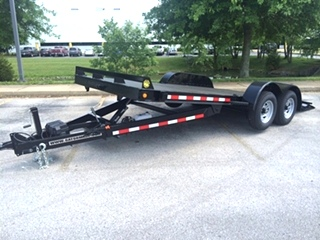 POWER TILT CAR TRAILER FOR SALE