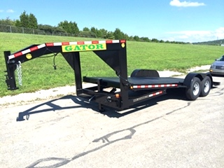 20FT-GATORMADE GOOSENECK POWER TILT BED-EQUIPMENT-CAR-TRAILER