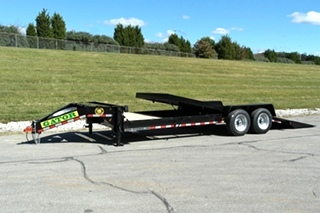 TILT BED EQUIPMENT TRAILER FOR SALE